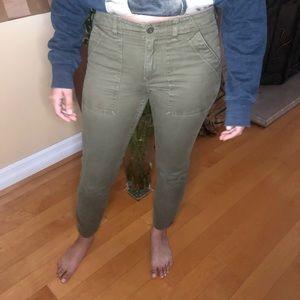 J. Crew Green Army Pants